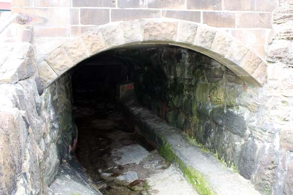 A smugglers tunnel