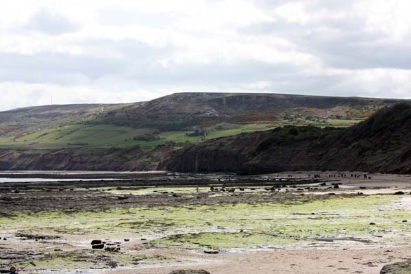 South towards Boggle Hole and Ravenscar