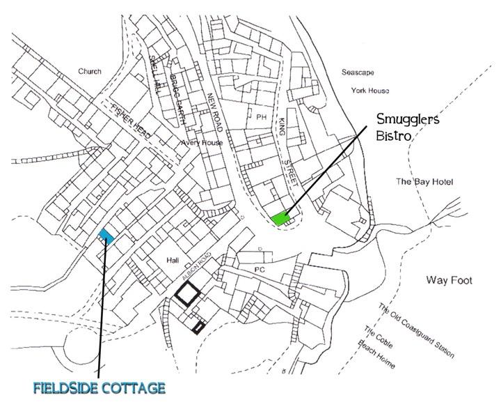 Fieldside location map